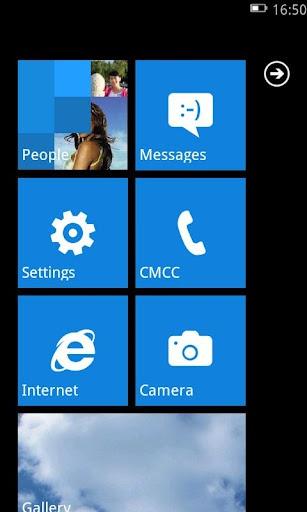 Launcher 7 - Windows 7 sur android