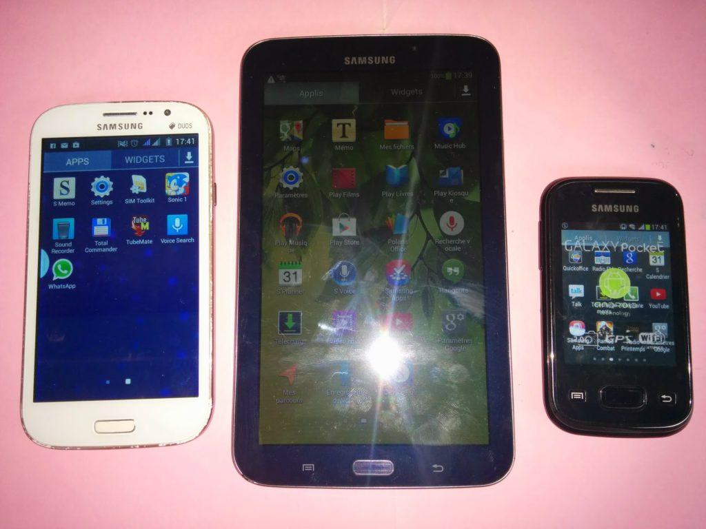 Samsung - Reconnaitre une copie
