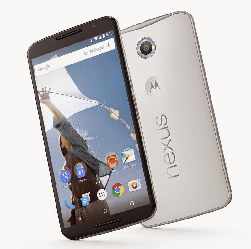 Google Nexus 6 et son grand écran