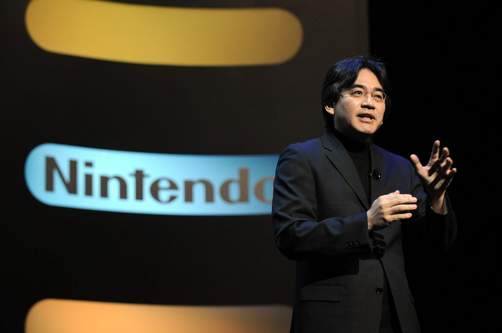 Satoru Iwata, Président de Nintendo
