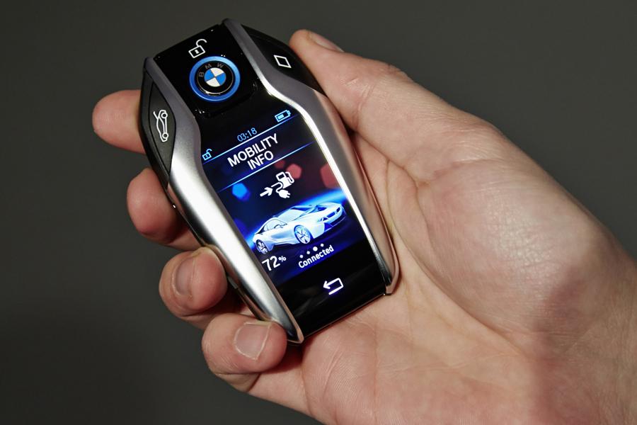 Clé BMW tactile