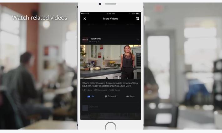 Facebook flux video