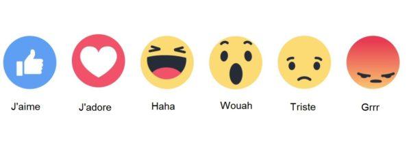 Facebook réaction