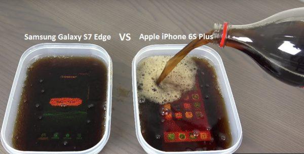 Samsung Galaxy S7 Edge vs iPhone S Plus