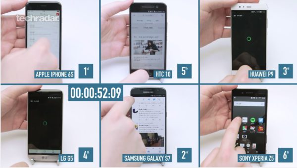 HTC 10 vs iPhone 6S vs Huawei P9 vs Galaxy S7 vs Xperia Z5 vs LG G5