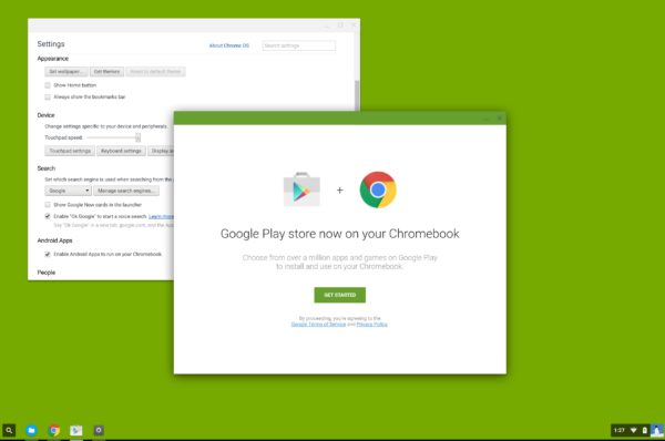 Play Store ChromeBooks