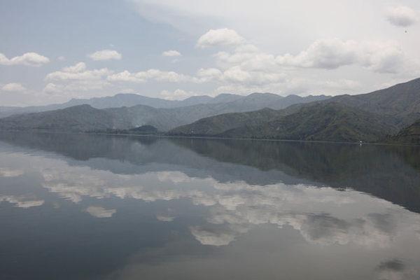 Lac Kivu au Rwanda