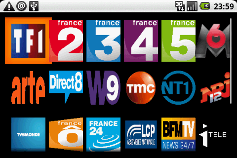 TV sur Android