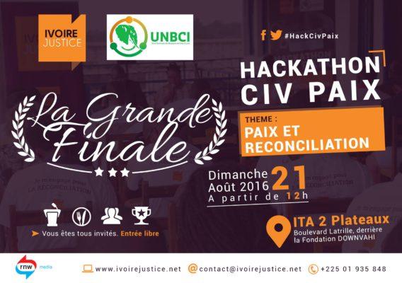Hackathon paix et reconciliation
