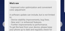 Galaxy S8 et S8 plus : Mise à jour logiciel en Inde avec une correction des balances de couleurs