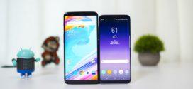 Speed Test : OnePlus 5T VS Samsung Galaxy S8 Oreo