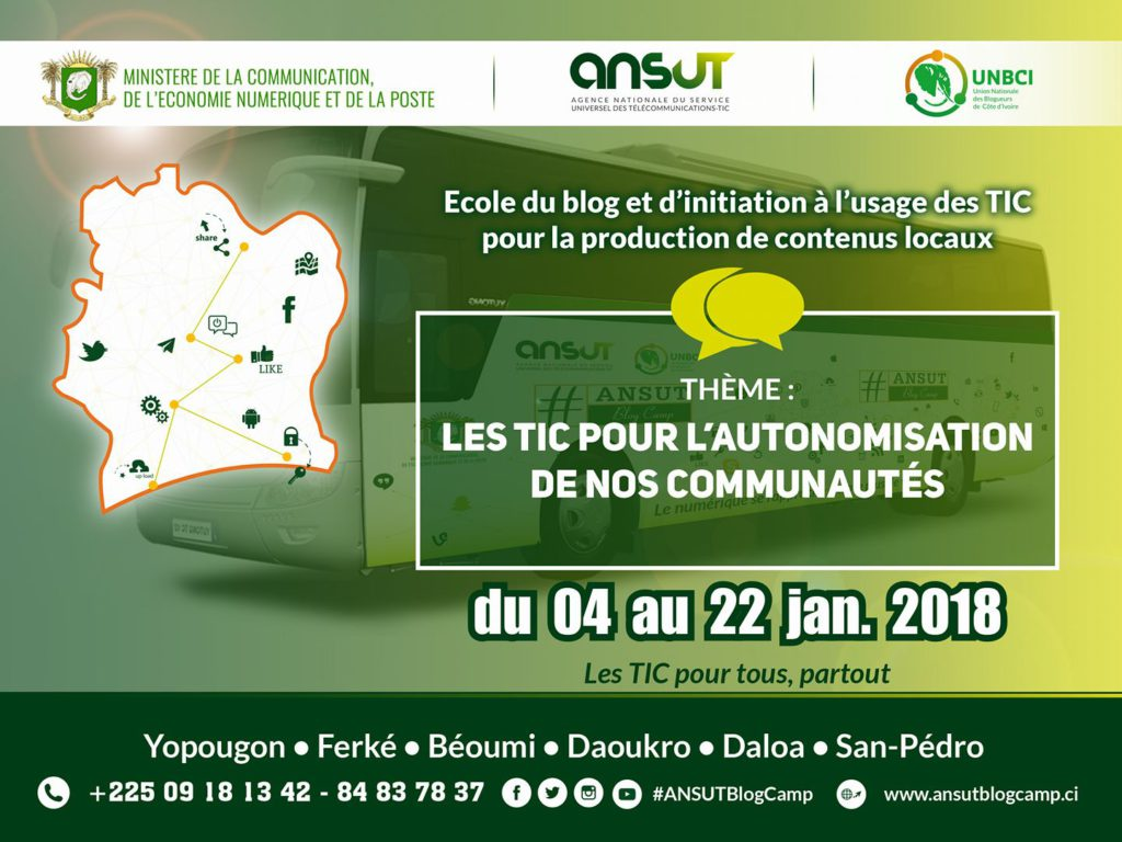 ANSUT Blog Camp