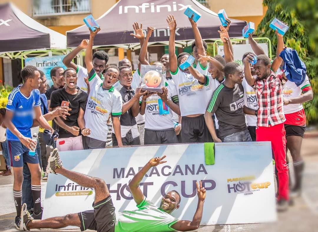 Infinix MARCACANA HOT CUP