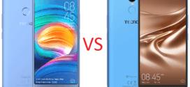 Mobile : Tecno Camon X VS Tecno Pouvoir 2