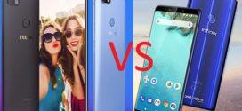 Mobile : Tecno Camon X Pro VS Infinix Note 5