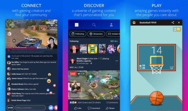 Facebook Gaming Hub