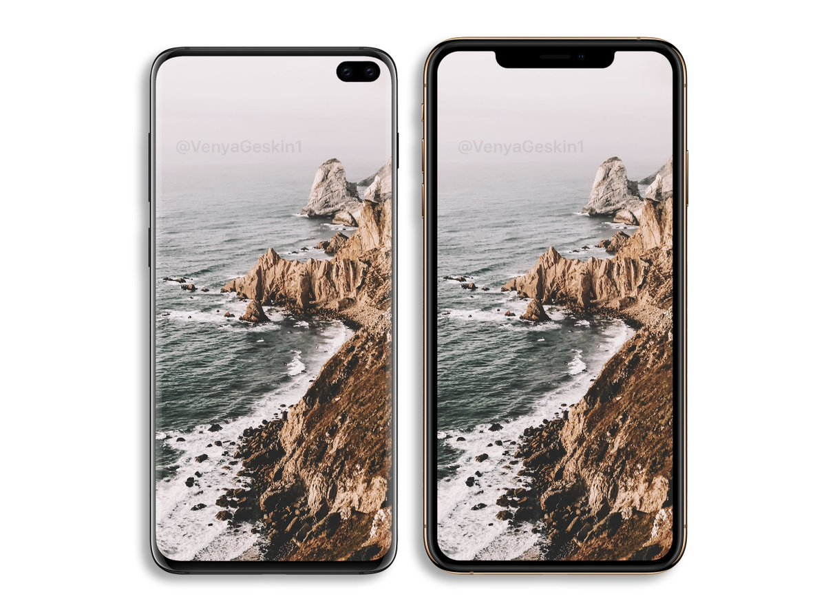 Samsung Galaxy S10 Plus vs Apple iPhone XS Max