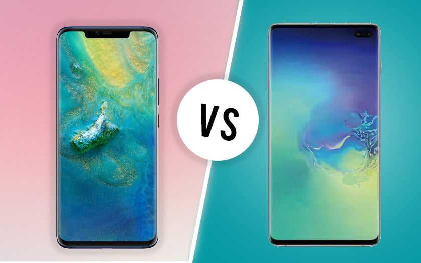 Samsung Galaxy S10 Plus vs Huawei Mate 20 Pro