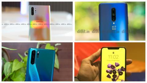 Samsung Galaxy Note 10+Vs la concurrence