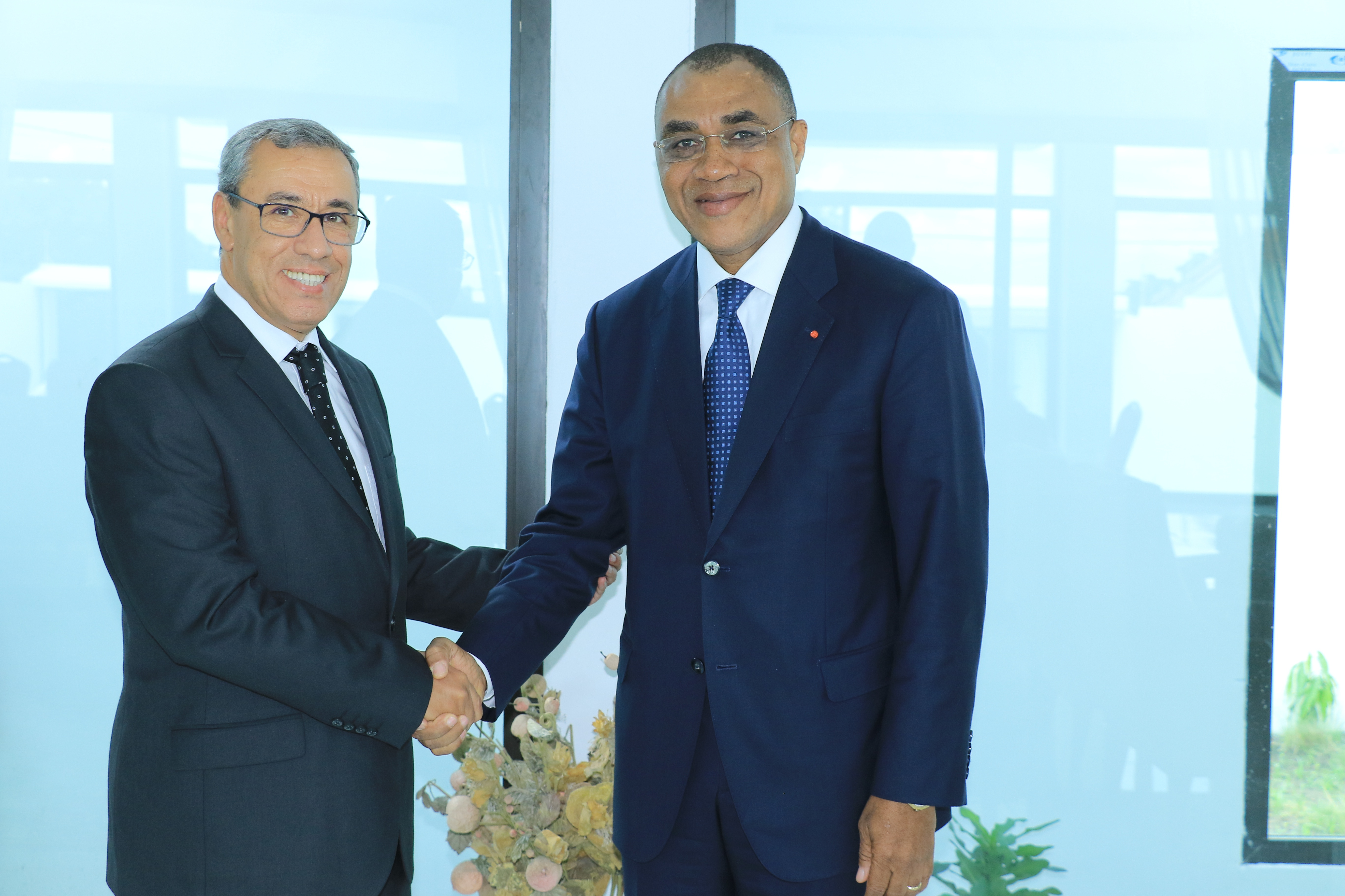Ministre des finances et Président BCP