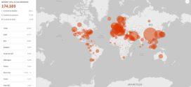 Coronavirus Covid 19 : Microsoft met en ligne un outil pour suivre l'évolution de l'épidemie