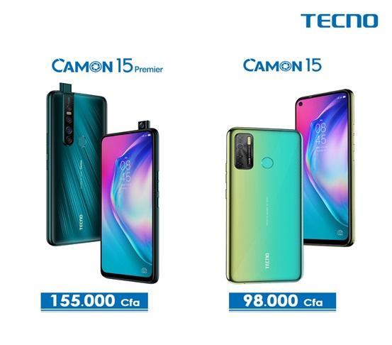 Tecno Camon 15 Premier Prix