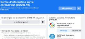 Facebook lance un centre d'informations sur le COVID-19 dans 17 pays africains