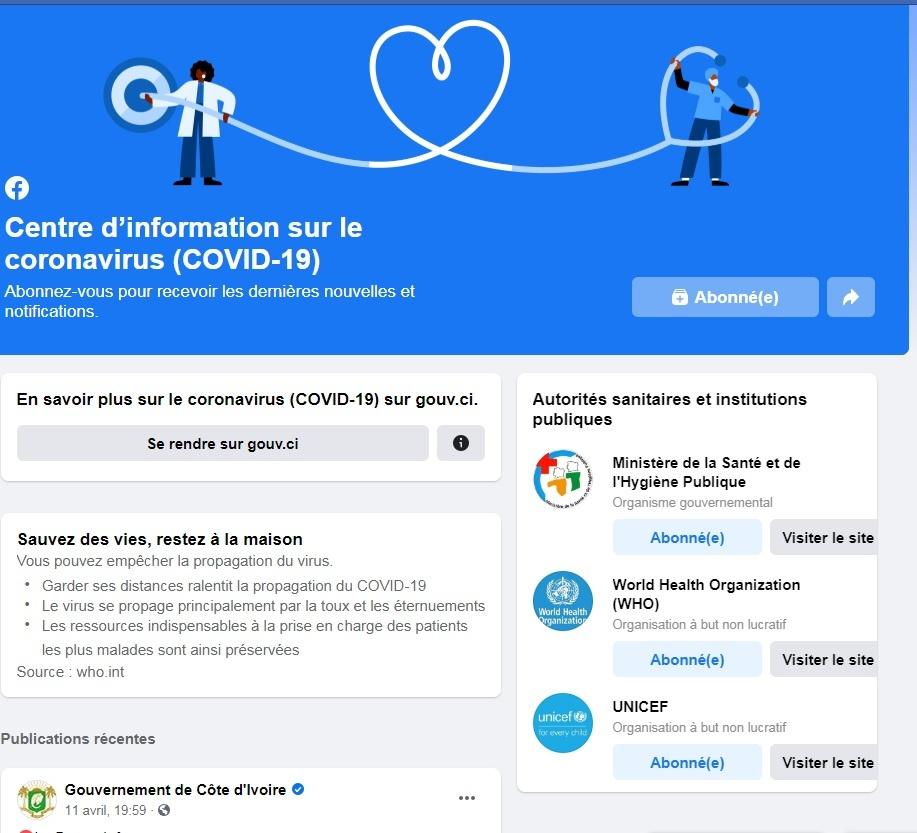 Covid 19 Facebook