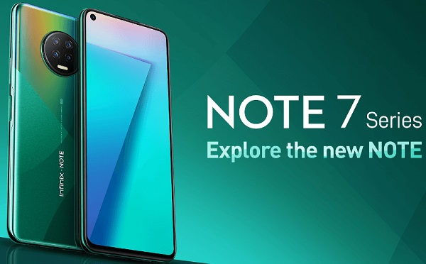 Infinix Note 7 et Vidhance