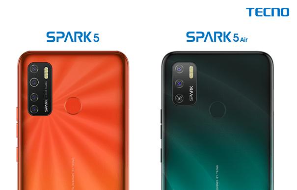 Tecno Spark 5 vs Spark 5 Air