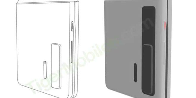 Huawei : Un nouveau brevet d'un smartphone pliable à clapet du constructeur chinois