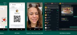 WhatsApp lance de nouvelles fonctionnalités, des Stickers animés, plus de participants pour les appels vidéos et bien plus