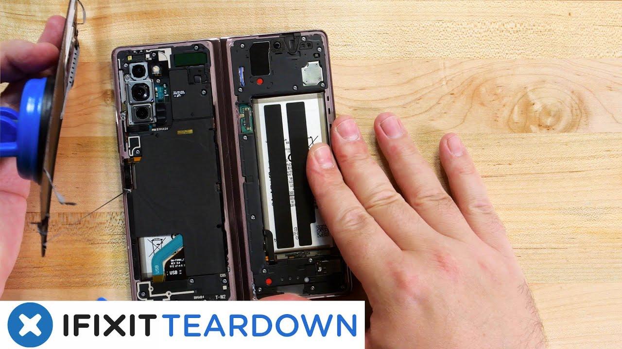 Galaxy Z Fold 2 - TearDown