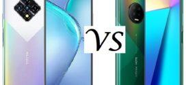 Comparatif : Infinix Zero 8 VS Infinix Note 7