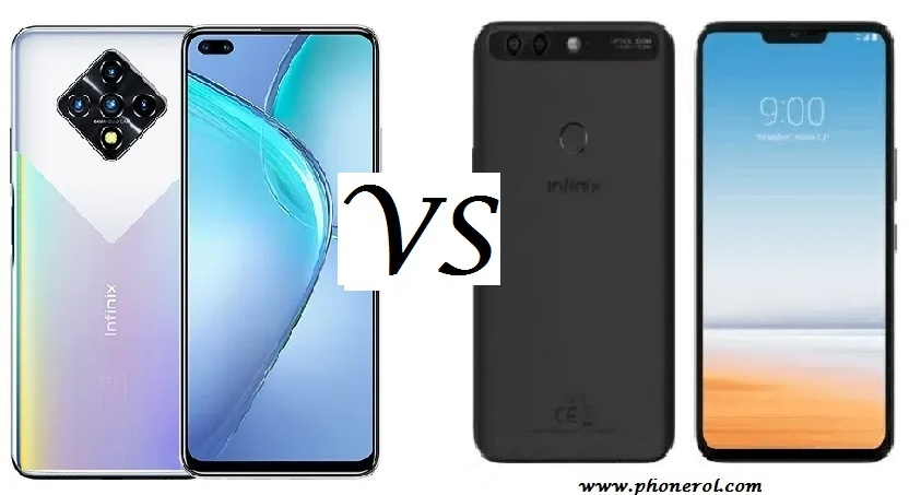 Infinix Zero 8 vs Infinix Zero 6 Pro