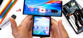 LG Wing : Démontage du mobile avec son écran pivotant