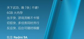 Xiaomi relance le Redmi 9A avec 6 Go RAM