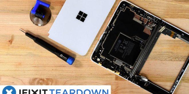 Surface Duo : Démontage du mobile de Microsoft