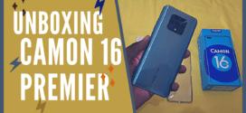Tecno Camon 16 Premier : #Unboxing et fiche technique du smartphone
