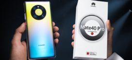 Unboxing et premières impressions sur le Huawei Mate 40 Pro en Vidéo