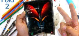 Samsung Z Fold 2 : démontage du nouveau smartphone pliable de Samsung