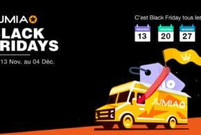 """Jumia lance l'un de ses plus grands événements annuels, le """"Jumia Black Fridays"""""""