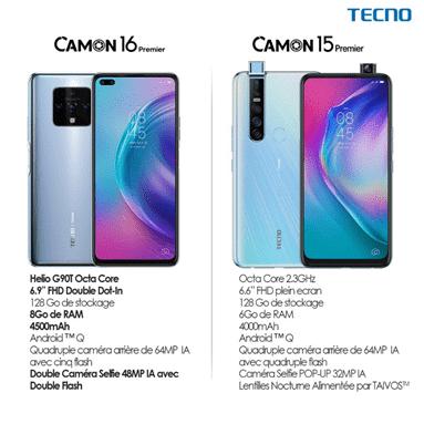 Camon 16 Premier VS Camon 15 Premier