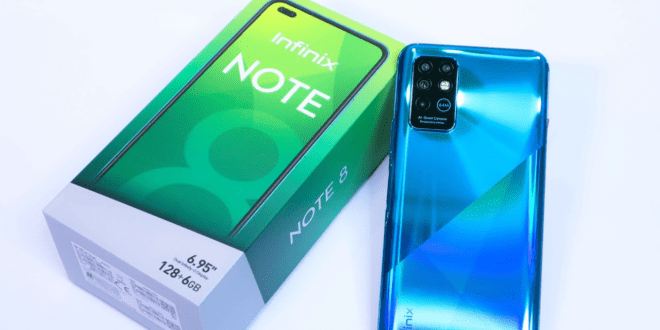 Infinix dévoile le nouveau INFINIX NOTE 8, un mobile polyvalent