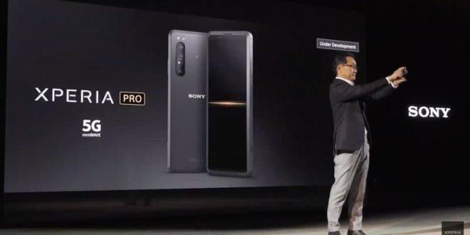 Sony Xperia Pro : Test de durabilité du nouveau smartphone