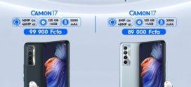 Tecno Mobile: La série des Camon 17 est disponible sur le marché Ivoirien