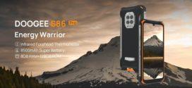 DOOGEE S86 Pro met à niveau le S86 avec une fonction de mesure de la température