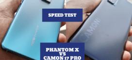 Tecno Phantom X vs Camon 17 Pro : Speed Test Vidéo